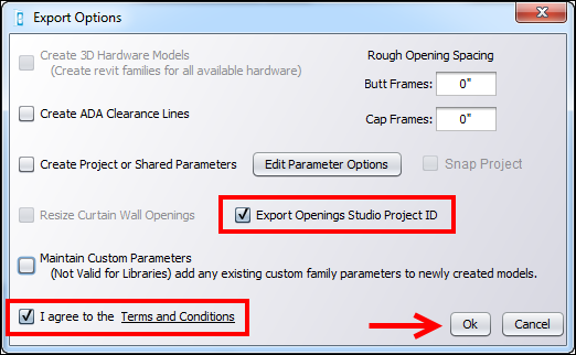 Frequently Asked Openings Studio Questions (Go to Revit